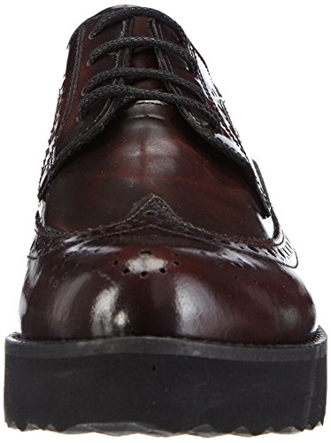 Marc Shoes Romy, Brogues femme Rouge - Rot (bordo 660)