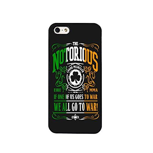 BigBazza Conor McGregor UFC Fight MMA The Notorious Irland Irish Fighter Handy Schutzhülle für iPhone 7(11,9cm)-in schwarz