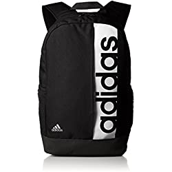 Adidas Lin Per Bp, Mochila Unisex Adulto, Negro (Negro/Negro/Blanco), Talla única