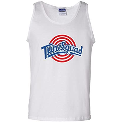 Space Jam Tune Squad Taz TANK TOP ADULT SMALL by KING (Top Jam)
