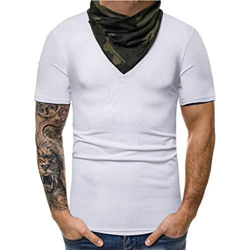 Männer Camouflage Print Hoodie Ärmelloses Drucken Flagge T-Shirt Tank Top Männer Casual Druck Camouflage Tops Pullover Kragen O Bluse Bluse T-Shirt