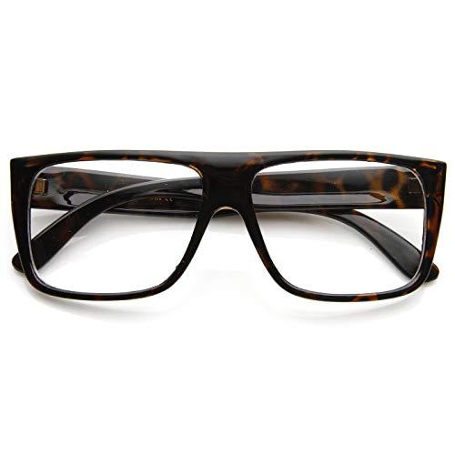 Kiss Brillen in neutralen stil JACOBS Flat Top - optischen rahmen VINTAGE mann frau SUPER COOL - HAVANNA