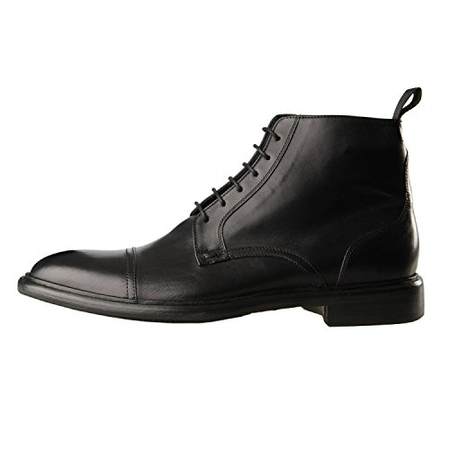 Paul Smith, stivaletto stringato, pelle, uomo, tg. 40.5