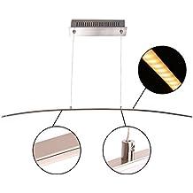 mstar LED Lámpara colgante moderno techo Altura Ajustable de metal aluminio colgante lámpara para comedor cocina comedor Salón