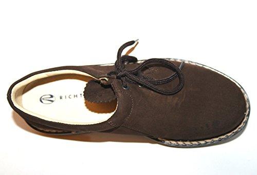 Richter Kinderschuhe , Chaussures de ville à lacets pour garçon Marron - Braun (Moro)