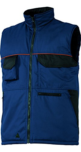 Deltaplus 5428313 M2-Corporate Mcgiw Wint Gilet Panoply, Taglia XL, Blu/Nero