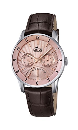 Lotus Men's Analogue Classic Quartz Watch with Leather Strap 18216/3