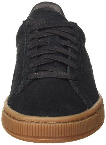 Puma Suede Classic Natural Warmth, Sneakers Basses Mixte Adulte Noir (Black-black)