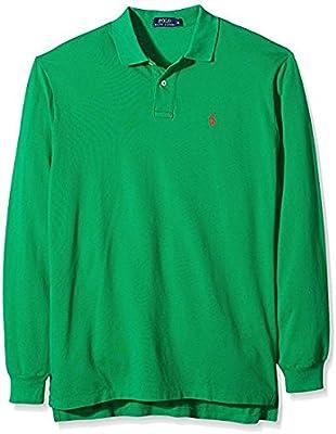 Ralph Lauren Polo en Classic Fit Longsleeve Green (L)