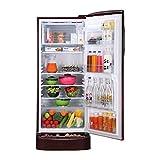 LG 235 L 5 Star Inverter Direct Cool Single Door Refrigerator (GL-D241ASPY, Scarlet Plumeria)