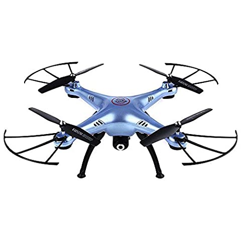 Syma X5HW WIFI FPV Drone Live Video with 2.0 MP HD Camera RC Headless Mode Quadcopter Gift Toys- Blue
