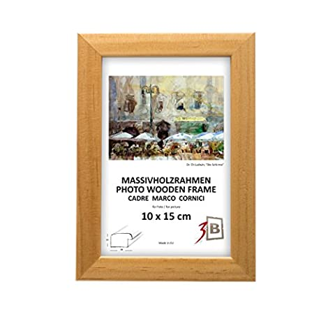 Set de 3 pièces cadres OSLO - 15x20 cm - naturel - cadre en bois, cadre pour photo