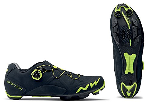 Northwave Scarpe MTB Cross Country Uomo Ghost XCM Nero/Giallo Fluo