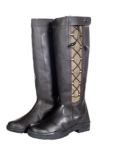 HKM Fashion Stiefel -Madrid Winter Membran-, Schuhgrösse 38, dunkelbraun