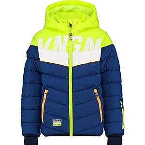 Vingino Jacke Ski Boys Techi Skijacke Electric Blue Neon-Gelb Gr. 12 / 152
