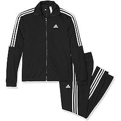 Adidas Tiro TS Chándal, Hombre, Negro/Blanco