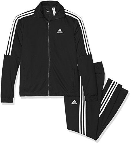 adidas Herren Tiro Trainingsanzug, Black/White, 7