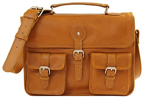 f814c319b0 Cartable cuir vintage - 13