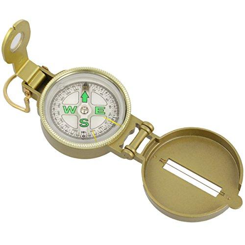 Marschkompass - Military Metal Kompass - flüssigkeitsgedämpft Scout Compass