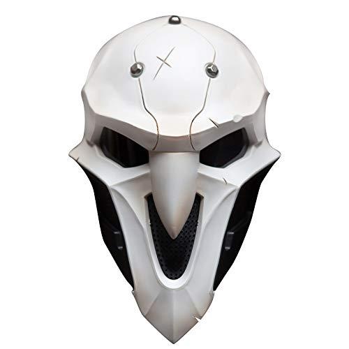 DMAR Overwatch Reaper Mask, 1: 1 Replica Halloween Cosplay Prop (Replica Mask 1 Halloween)