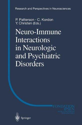 Neuro-Immune Interactions in Neurologic and Psychiatric Disorders (2000-01-15)