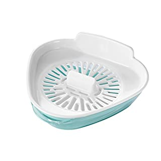keeeper Eiertrenner für bis zu 10 Eier, Inkl. Auffangschale, BPA-freier Kunststoff, 350 ml, Enzo, Mintgrün/Weiß