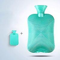 YUN Pearl Light PVC Wasserinjektion Wärmflasche Warmwasserbeutel Heißer Schatz zu senden Jacke 2L (Farbe : Green) preisvergleich bei billige-tabletten.eu
