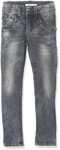 NAME IT Jungen Jeans Nittoke Skinny DNM Pant M NMT Noos, Grau (Dark Grey Denim), 164