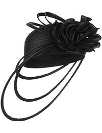 Y-BOA Femme Chapeau Mini Bibi Fleur Soirée Cérémonie Festival Bal Costumé Mariage