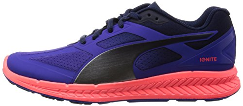 Puma Ignite women Running Shoes Fitness Jogging 188077 01 grey pink deep blue-navy Peach