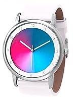 Avant Gamma–(nuevo diseño)–Rainbow e-motion of color unisex reloj de pulsera caja de acero inoxidable de Rainbow Watch GmbH