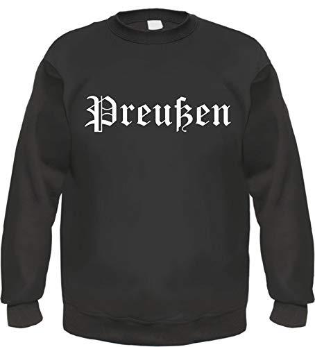 - Altdeutsch - Bedruckt - Pullover L Schwarz ()