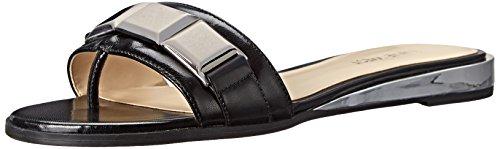 Nine West Xtina Leather Sandal Black