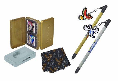 Nintendo DS - Pokemon HeartGold and Soul Basics Accessory Kit, silber [UK Import]