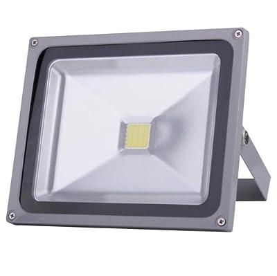 TOP IP65 Squre 50w LED Lampe Fluter kaltweiß Lampe Energiesparlamep 4950-4990 Lms Wandleuchter Außenstahler Flutlicht Scheinwerfer von Himanje bei Lampenhans.de