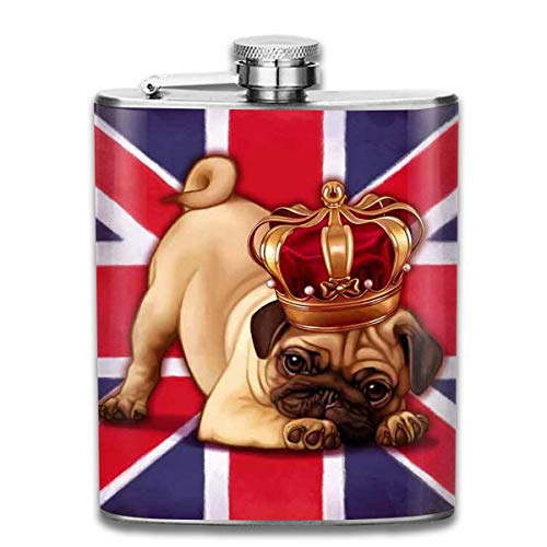 ion Jack Stainless Steel 7 Oz Hip Flask ()