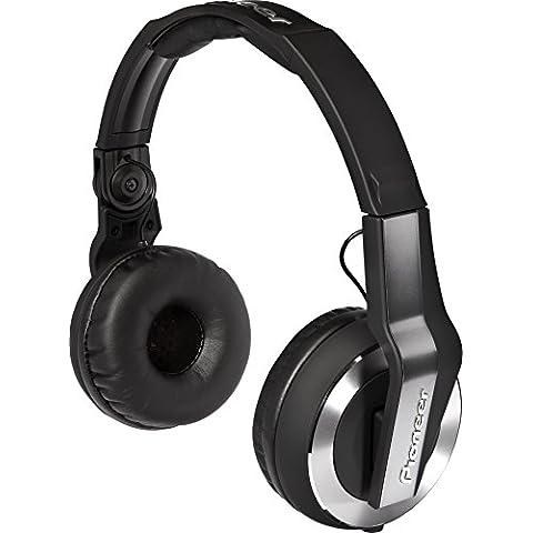 Pioneer HDJ-500-K auricular - Auriculares (Negro, Circumaural, 3.5 mm (1/8