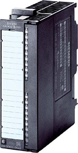 SIEMENS S7-300 - TARJETA E/S ANALOGICO SM334 4EA2SA 12BIT 10V