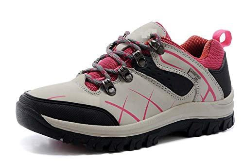 Adong Mens Wanderstiefel Jungle Trekking Schuhe Kletterschuhe ow-top Schuhe Wasserdichte Schuhe Non Slip Breathable Outdoor Schuhe,D,43EU