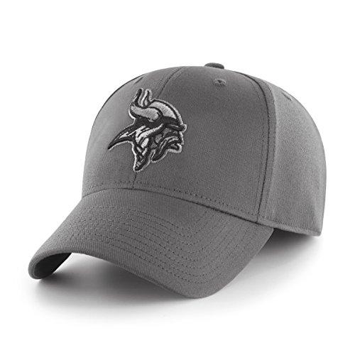 Retro-designer-center (NFL Comer OTS Center Stretch Fit Hat, Unisex - Erwachsene, NFL Comer OTS Center Stretch Fit Hat, anthrazit, Medium/Large)