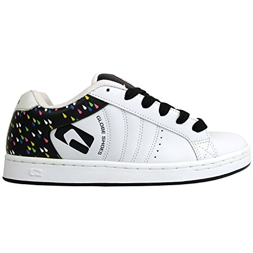 GLOBE Skatebord Womens Shoes WHITE/BLACK/RAIN Size 5.5 (Schuhe Lakai Womens)
