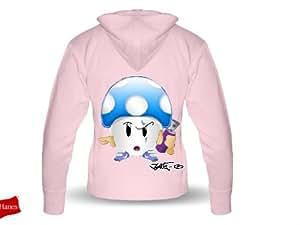 Veste Femme CHAMPI BOMBING - Sweatshirt capuche zip - F