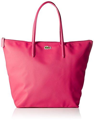 LACOSTE L.12.12 Concept Travel Shopping Bag Virtual Rosa