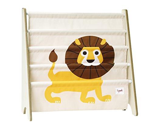 3 Sprouts Bücherregal Bücheraufbewahrung Löwe -