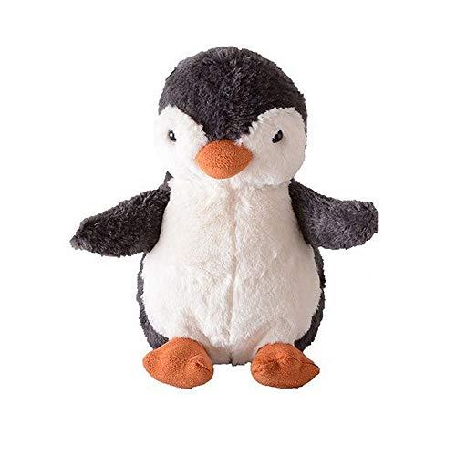 YEARYOWN Kleine Pinguin Figur Puppe Tier Zwei-Ton Plüsch Spielzeug Geschenk für Kinder Geburtstag Geschenk Auto Ornament,35CM -