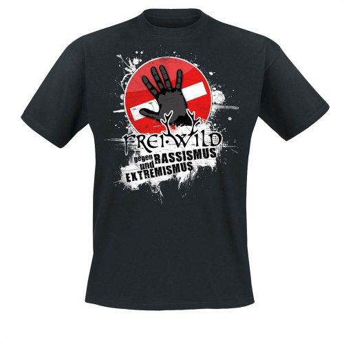Frei.Wild - Farbe Zeigen T-Shirt, schwarz, Grösse S -