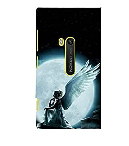 printtech Girl Angel Fairy Back Case Cover for Nokia Lumia 920 / Microsoft Lumia 920