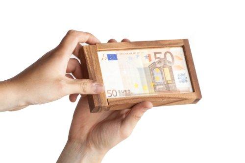 Caja mágica para regalos de dinero
