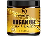 Premium naturaleza mascarilla de pelo con aceite de argán, 8oz