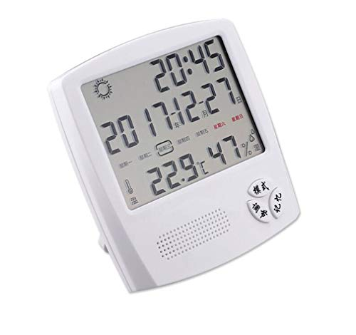 Higrometro Digital Termometro Higrometro Digital Relojes Jardin Hogar Interior Hogar Habitación Del...